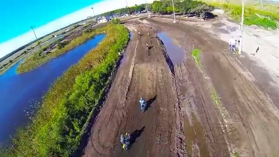 Aerial View of Miami Motocross Park