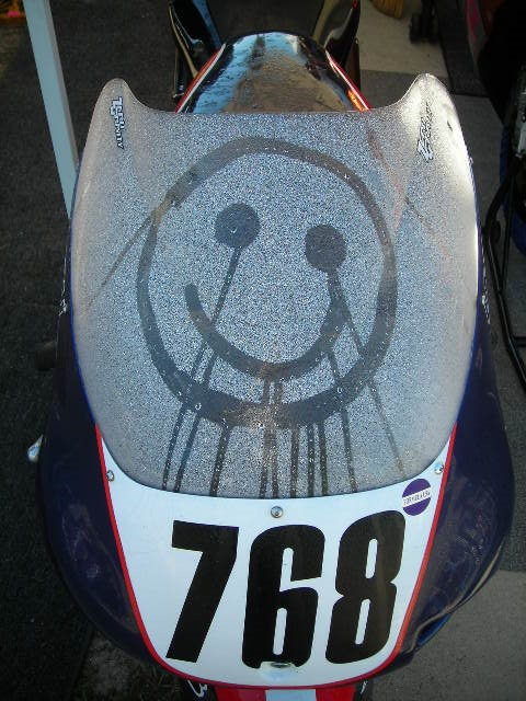 Happy Face Motorocycle Jennings Florida Road Racing