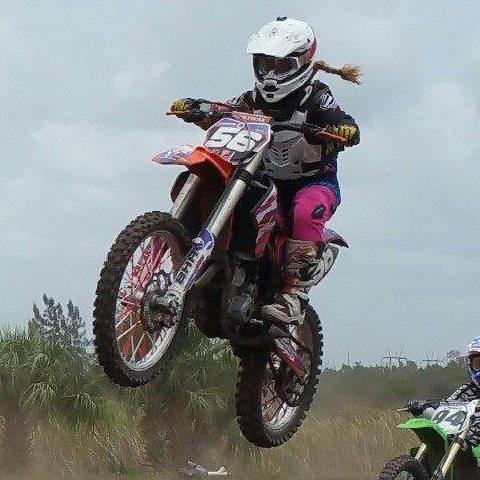 woman motocross rider florida
